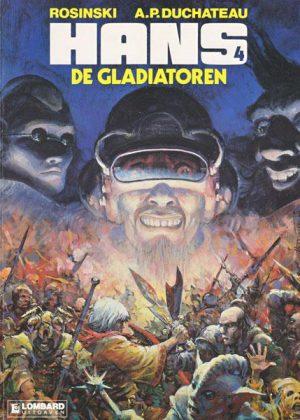 Hans 4 - De gladiatoren (1e Druk)
