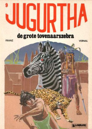 Jugurtha 9 - De grote tovenaarszebra