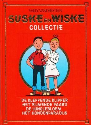 Suske en Wiske Collectie 8 - De kleppende klipper (HC)