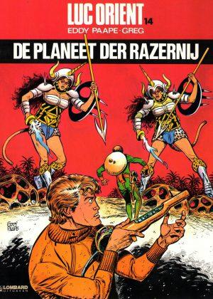 Luc Orient - De planeet der razernij
