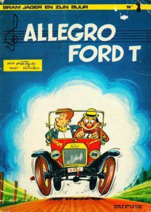 Bram Jager en zijn buur - Allegro Ford T