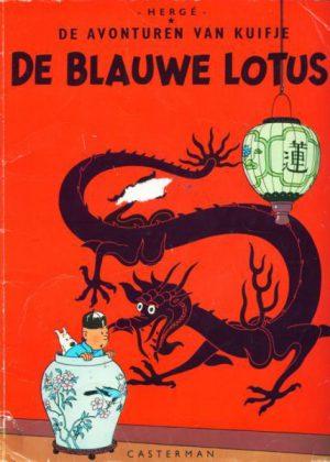 Kuifje - De Blauwe Lotus