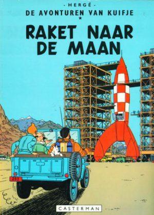 Kuifje - Raket naar de maan