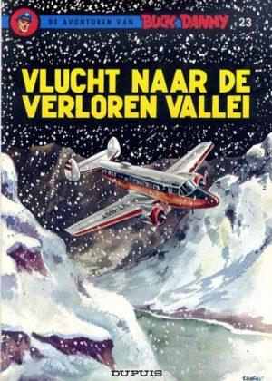 Buck Danny - Vlucht naar de verloren vallei