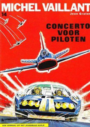 Michel Vaillant 14 - Concerto voor piloten