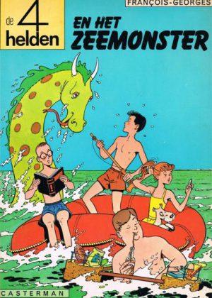 De 4 helden 1 - en het zeemonster