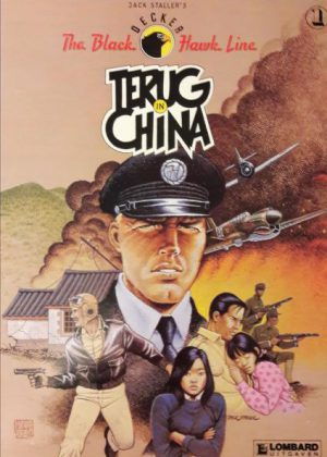 Black Hawk Line 1 - Terug in China (1e druk 1990)
