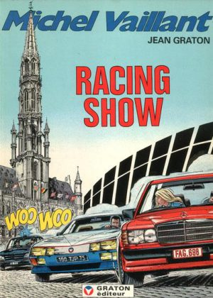 Michel Vaillant 46 - Racing show (Blauwe cover)