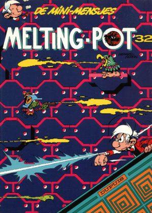 De mini-mensjes 32 - Melting-pot