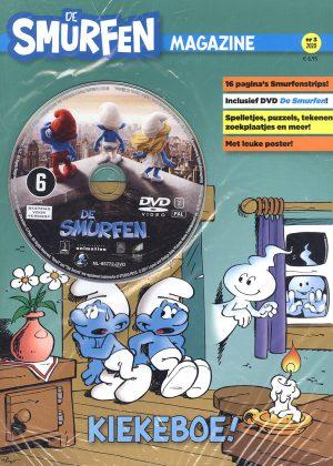 Smurfen Magazine nr. 3 2020 - Met DVD