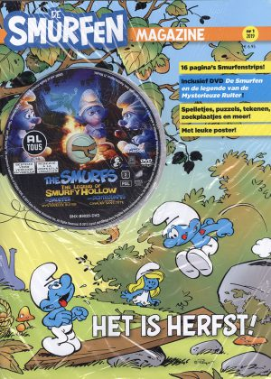 Smurfen Magazine nr. 1 2019 - Met DVD The Smurfs