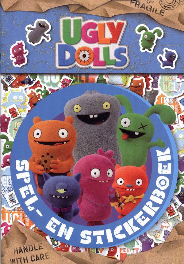 Ugly Dolls Spel- en stickerboek