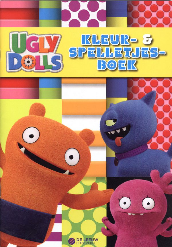 Ugly Dolls Kleur & Spelletjesboek