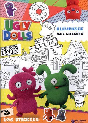 Ugly Dolls Kleurboek met stickers