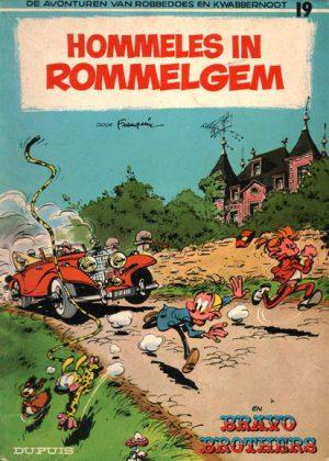 Robbedoes en Kwabbernoot - Hommeles in Rommelgem