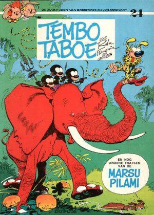 Robbedoes en Kwabbernoot -Tembo Taboe (1e druk)