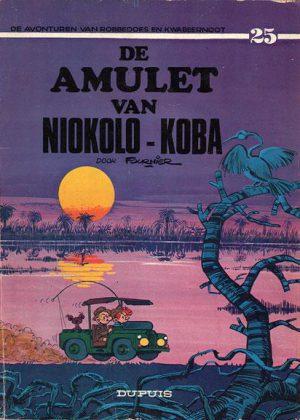 Robbedoes en Kwabbernoot -De amulet van Niokolo-Koba (1e druk)