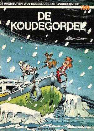 Robbedoes en Kwabbernoot - De koudegordel