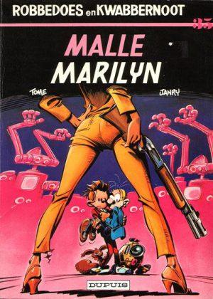 Robbedoes en Kwabbernoot - Malle Marilyn