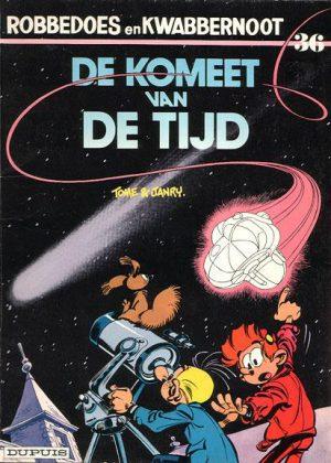 Robbedoes en Kwabbernoot - De komeet van de tijd