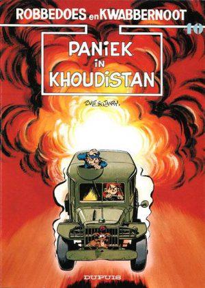Robbedoes en Kwabbernoot - Paniek in Khoudistan