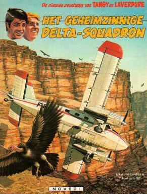 Tangy en Laverdure - Het geheimzinnige Delta-squadron (1983)