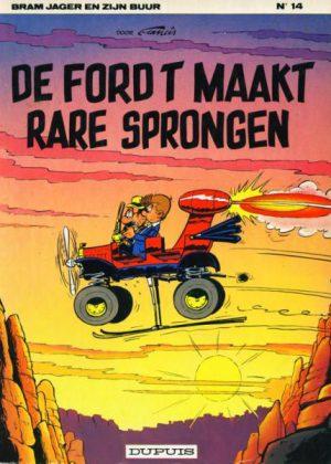 Bram Jager en zijn buur 14 - De Ford T maakt rare sprongen