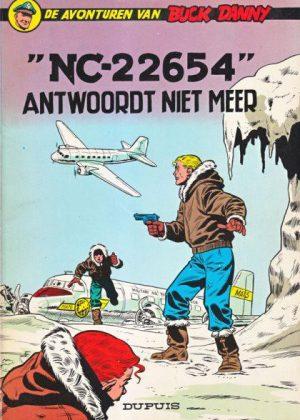 """Buck Danny 15 - """"NC-22654"""" antwoordt niet meer"""