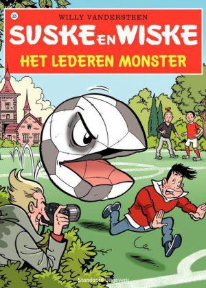 Suske en Wiske 335 - Het lederen monster