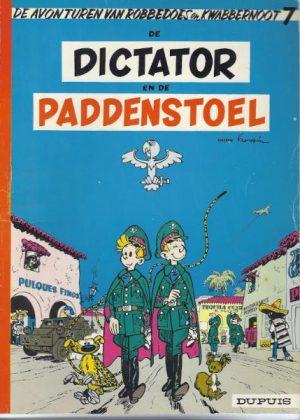 Robbedoes en Kwabbernoot - De dictator en de paddenstoel