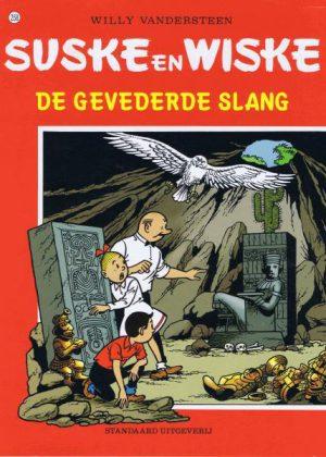 Suske en Wiske 258 - De gevederde slang (zgan)