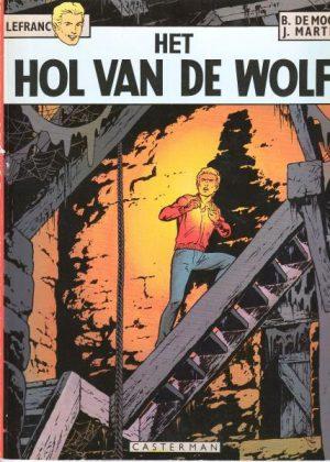 Lefranc 4 - Het hol van de wolf