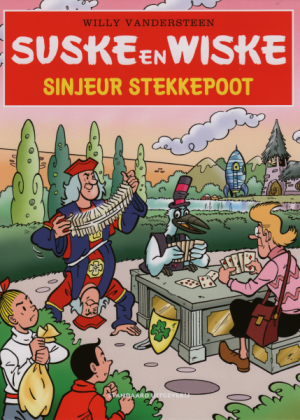 Suske en Wiske 45 - Sinjeur Stekkepoot (Uitgave Kruidvat)