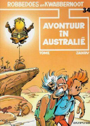 Robbedoes en Kwabbernoot - Avontuur in Australië