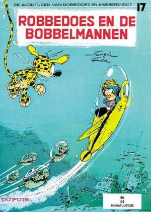 Robbedoes en Kwabbernoot - Robbedoes en de bobbelmannen