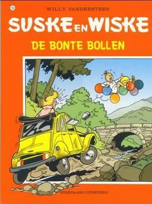 Suske en Wiske 260 - De bonte bollen (zgan)