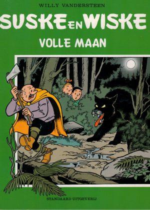 Suske en Wiske 252 - Volle maan (groene cover)