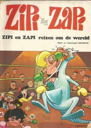 Zipi en Zapi 1 - Zipi en Zapi reizen om de wereld