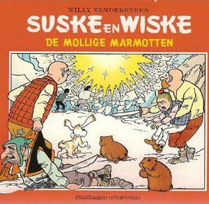 Suske & Wiske reclamealbum oblong De mollige marmotten 1e druk 2001 (Bruna)