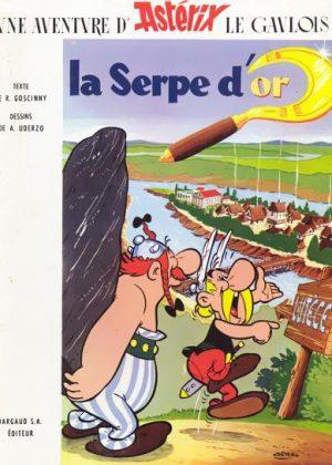 Astérix - La Serpe d'or (HC/FR)
