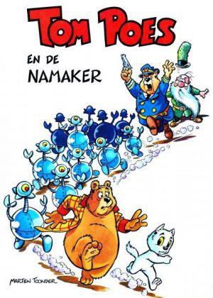 Tom Poes en heer Bommel - De Namaker 1e druk 1975