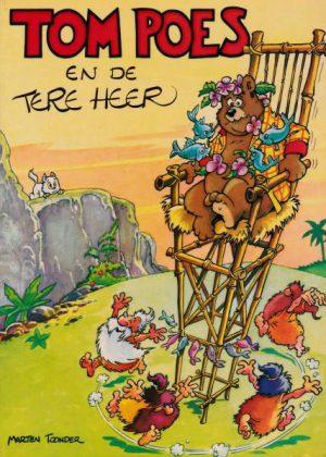 Tom Poes en heer Bommel - De Tere Heer 1e druk 1977
