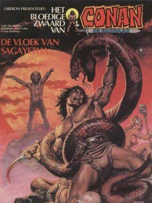 Conan 9 - De vloek van Sagayetha