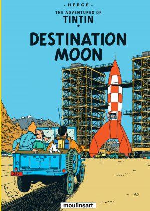 TinTin - Destination Moon (Soft-Cover)