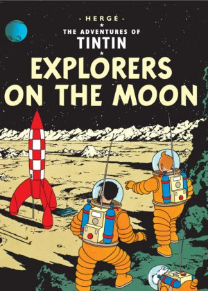 TinTin - Explorers On The Moon (Soft-Cover)