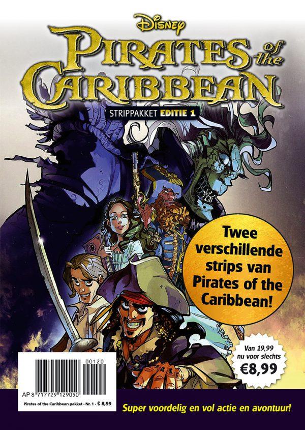 Pirates of the Caribbean strippakket (2 strips)