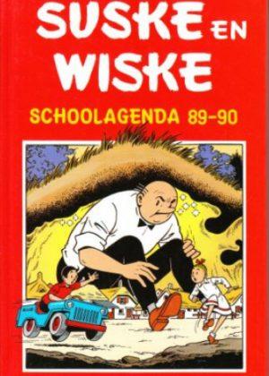 Suske en Wiske - Schoolagenda 89-90 (HC)