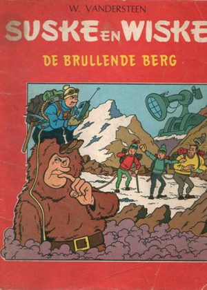 Suske en Wiske 58 - De brullende berg (1e druk 1965)