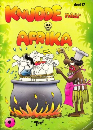 Knudde naar Afrika (Tweedehands)