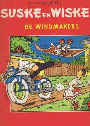 Suske en Wiske 38 - De windmakers (1e druk 1967)